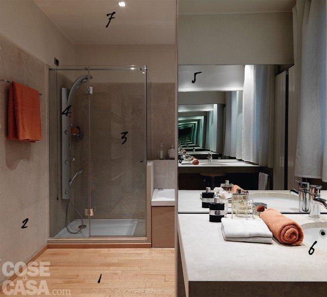 Bagno in stile minimal Idee da copiare  Cose di Casa