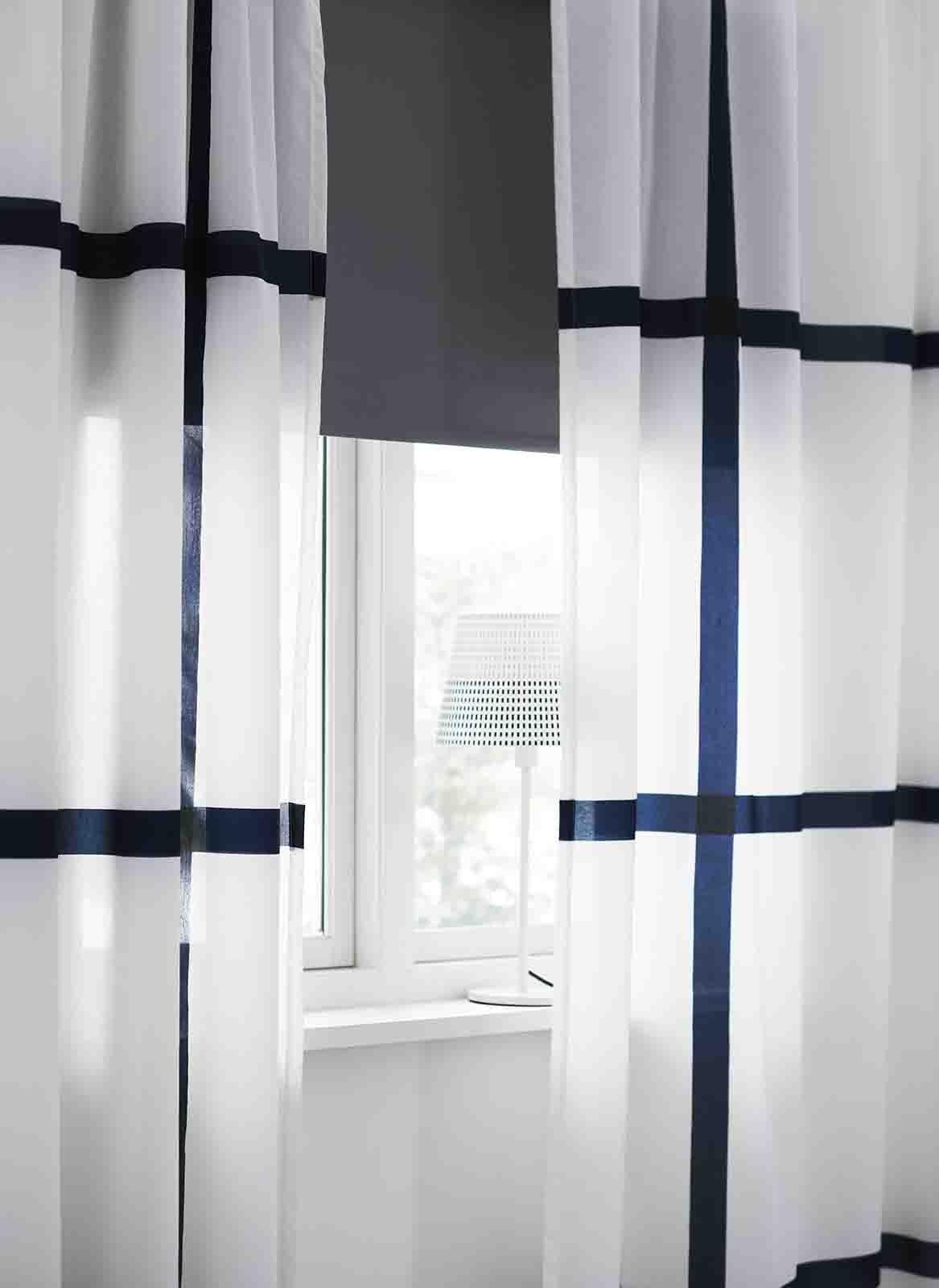 Ringblomma tenda a pacchetto, bianco, 100x160 cm la soluzione ideale per salvaguardare la tua privacy o evitare fastidiosi riflessi sulla tv e sullo schermo. Casa Moderna Roma Italy Tendine Ikea