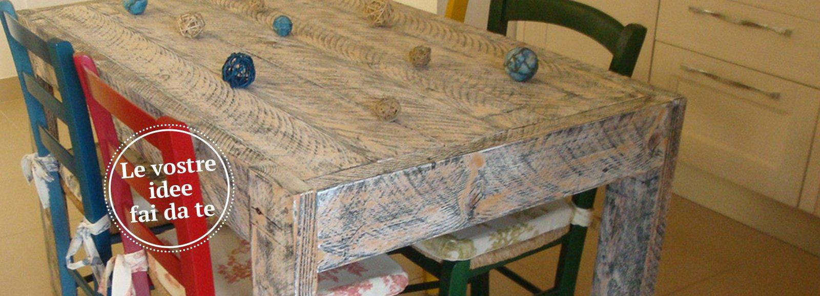 Un tavolo fatto di tavole  Cose di Casa