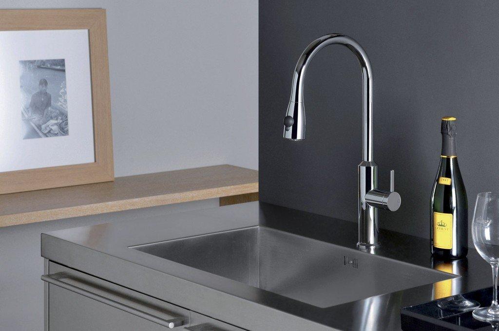 Cucina rubinetti per il lavello  Cose di Casa