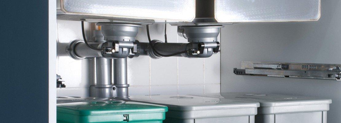 Pi spazio sotto il lavello in cucina  Cose di Casa