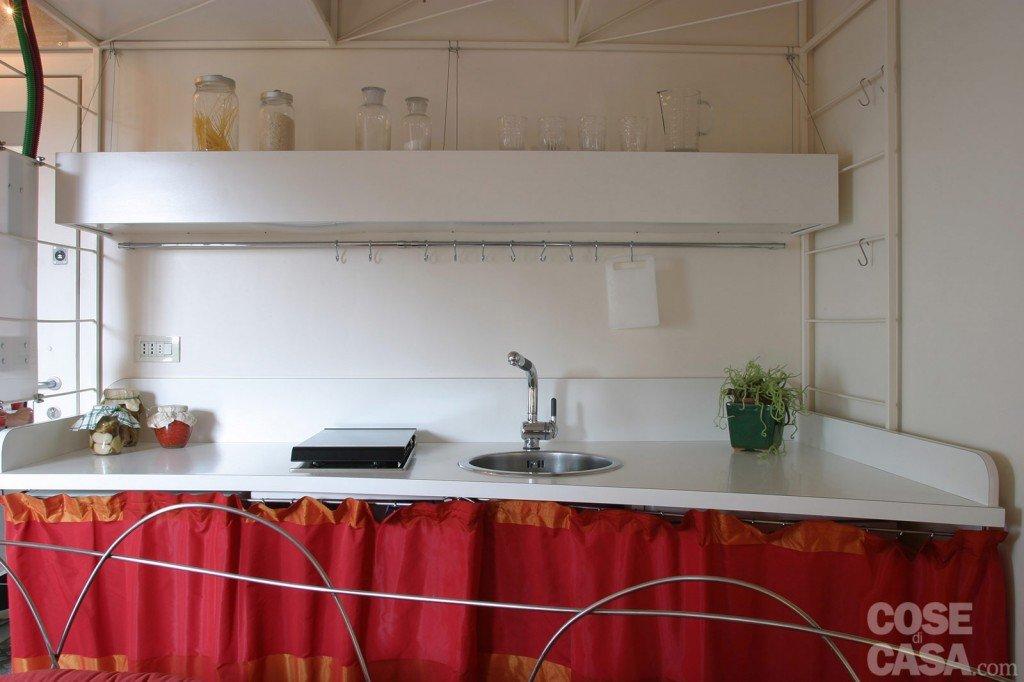 45 mq una casa in bianco e rosso  Cose di Casa