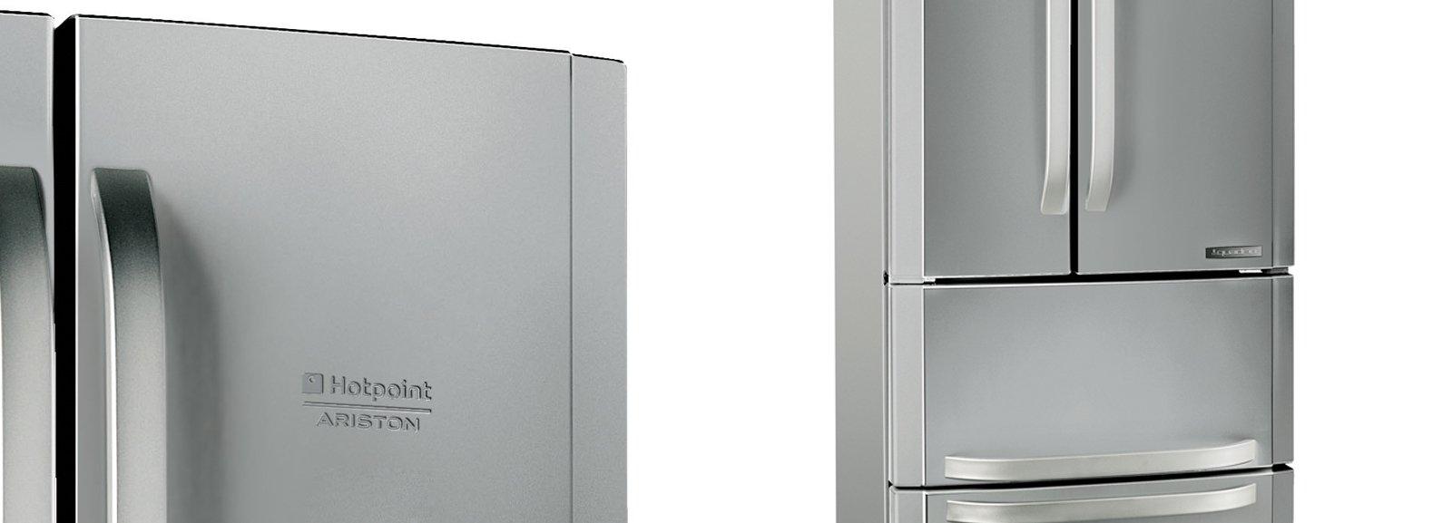Frigo e congelatore modelli maxi a tre porte side by