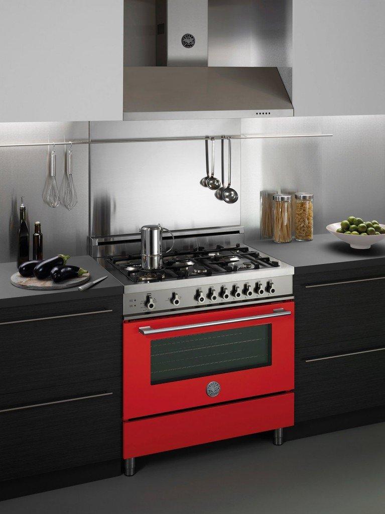 Cucina monoblocco piano cottura e forno tutto in uno freestanding  Cose di Casa