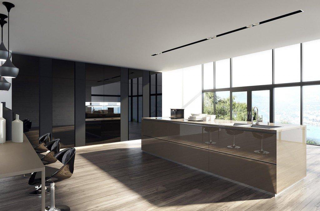 La cucina con lisola monocromatica o bicolore  Cose di Casa