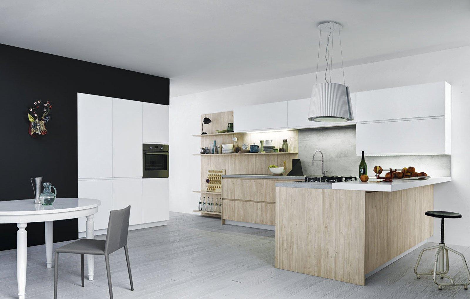 Cucine con ante lisce Stile contemporaneo  Cose di Casa