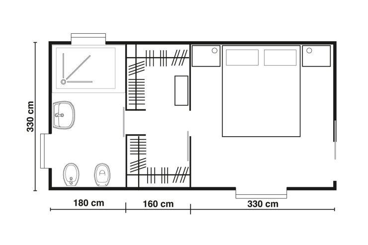 Grandezza Cabina Armadio 2021