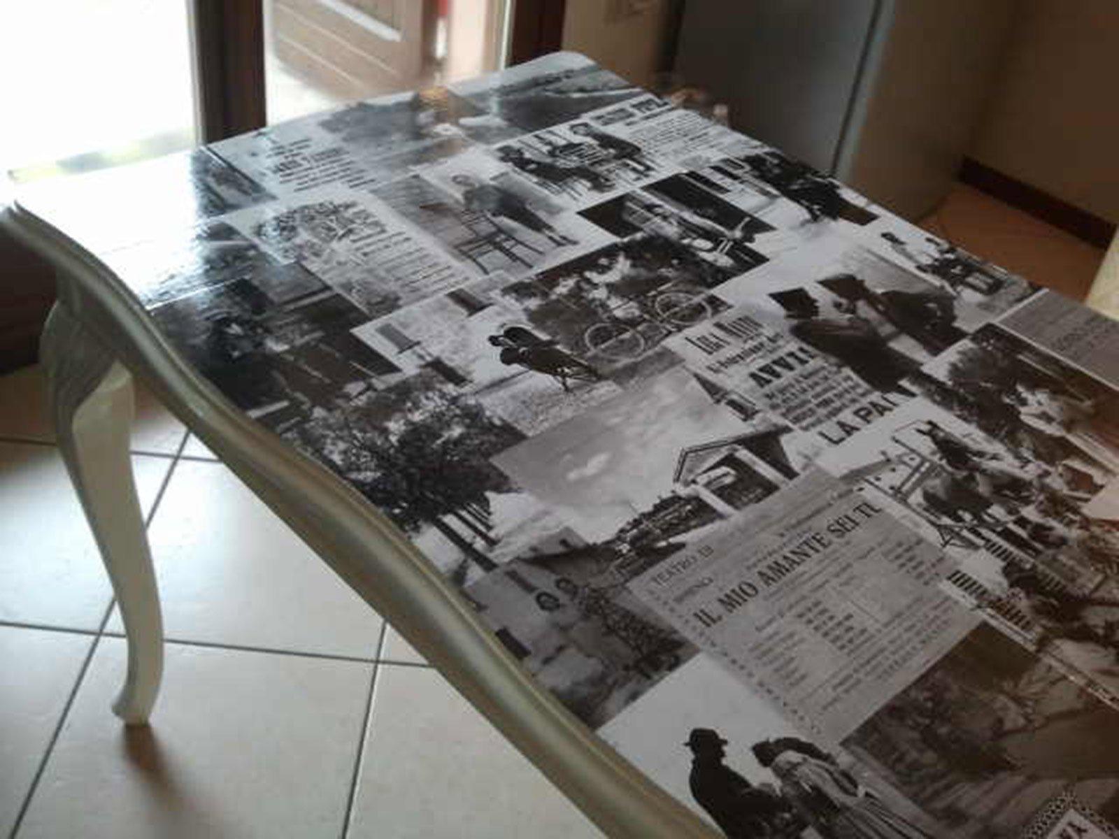 Rinnovare un vecchio tavolo in legno  Cose di Casa