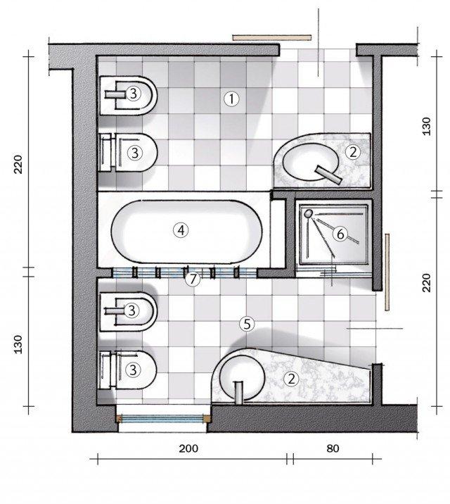 Ricavare il secondo bagno Il progetto  Cose di Casa