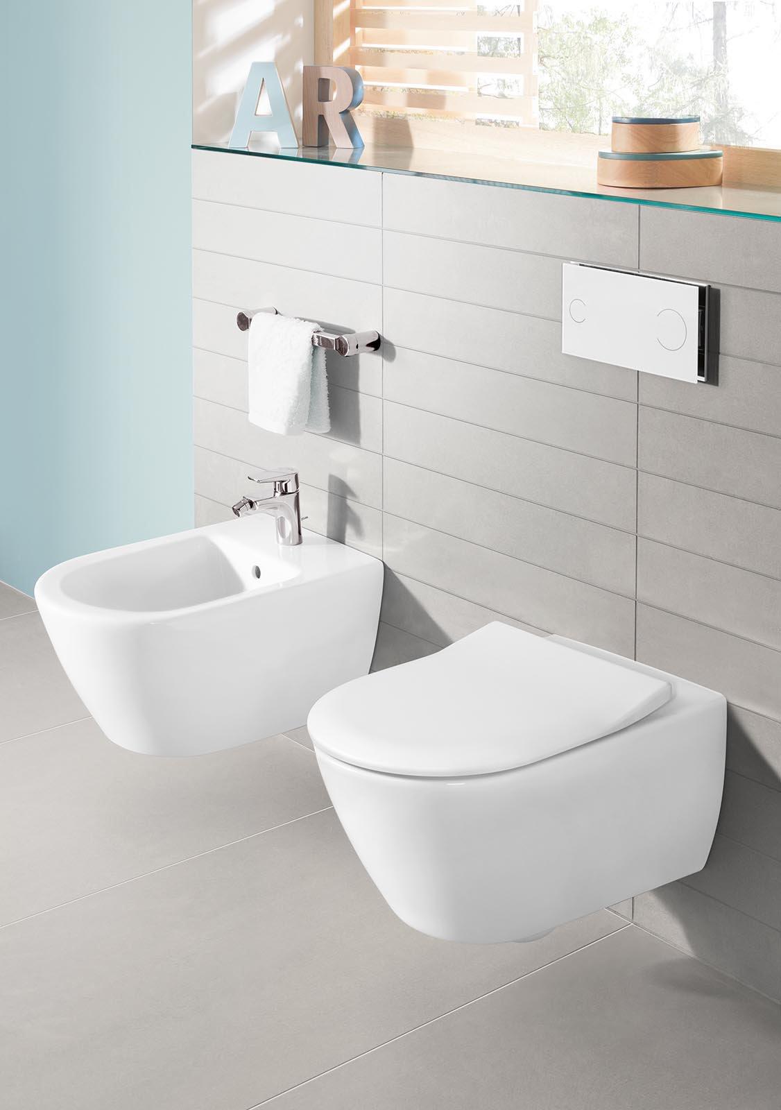 Sanitari sospesi per un bagno contemporaneo  Cose di Casa