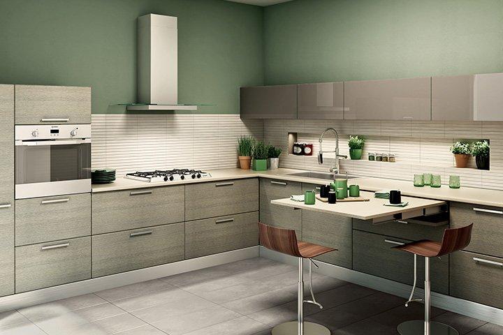 Cucina composizioni chiavi in mano salvaspazio e low cost  Cose di Casa