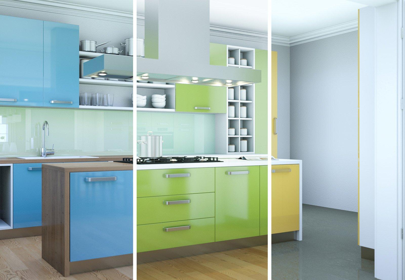 Rinnovare la cucina in modo soft Poco lavoro e poca spesa