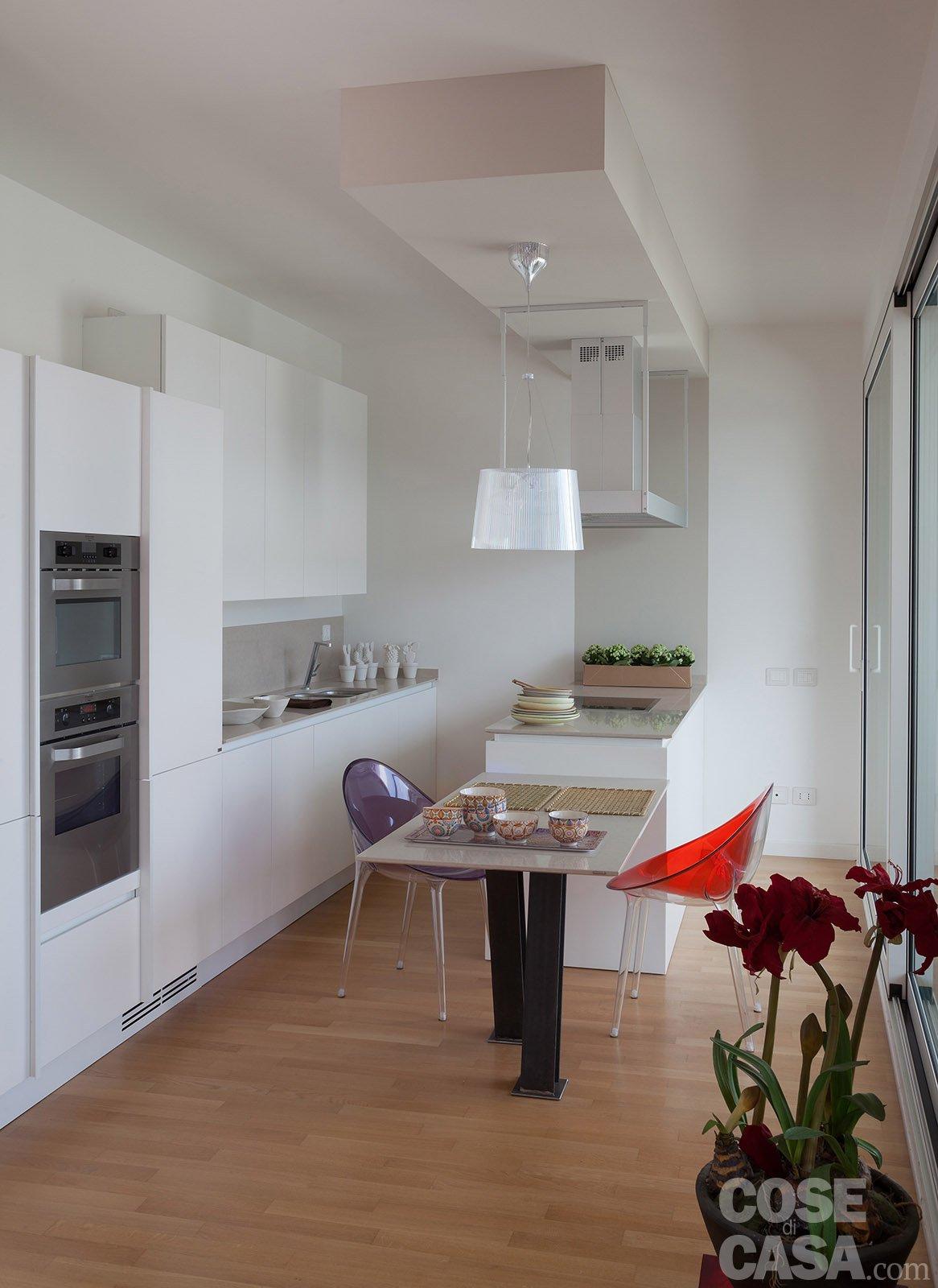 Open space contemporaneo una casa di 100 mq che sembra pi grande  Cose di Casa