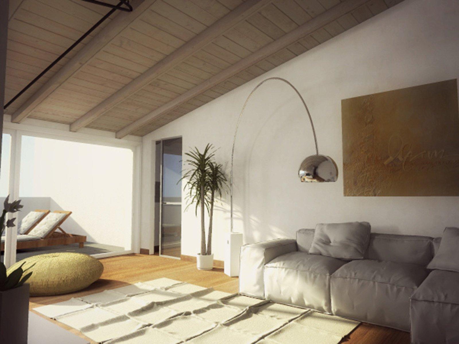 Mansarda una casa sottotetto luminosa e contemporanea  Cose di Casa
