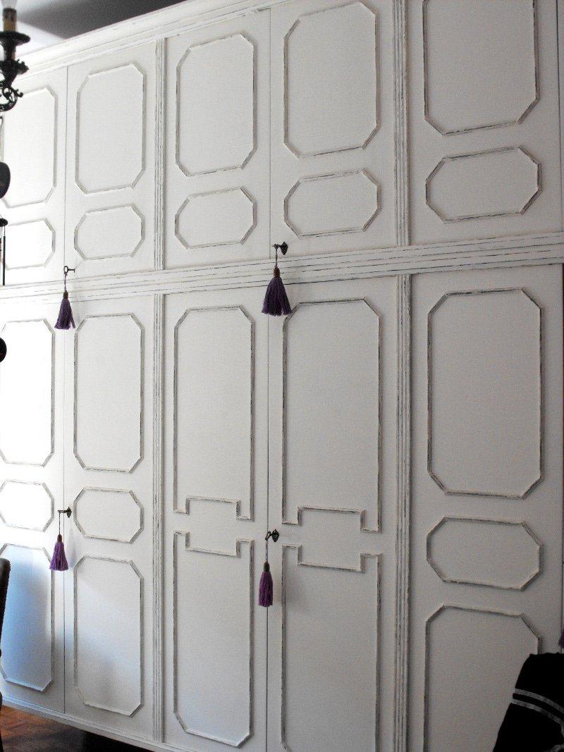 Restyling trasformare un vecchio armadio in un arredo shabby chic  Cose di Casa