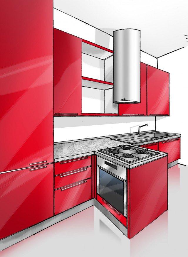Cucina concentrata in 3 metri  Cose di Casa