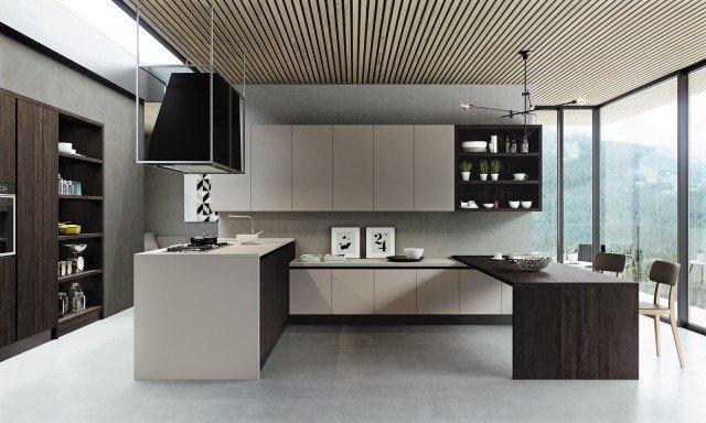 Cucina contenere di pi con tanti pensili o pensili grandi  Cose di Casa