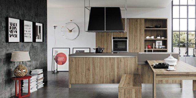 Cucine effetto legno per un ambiente caldo ed elegante  Cose di Casa