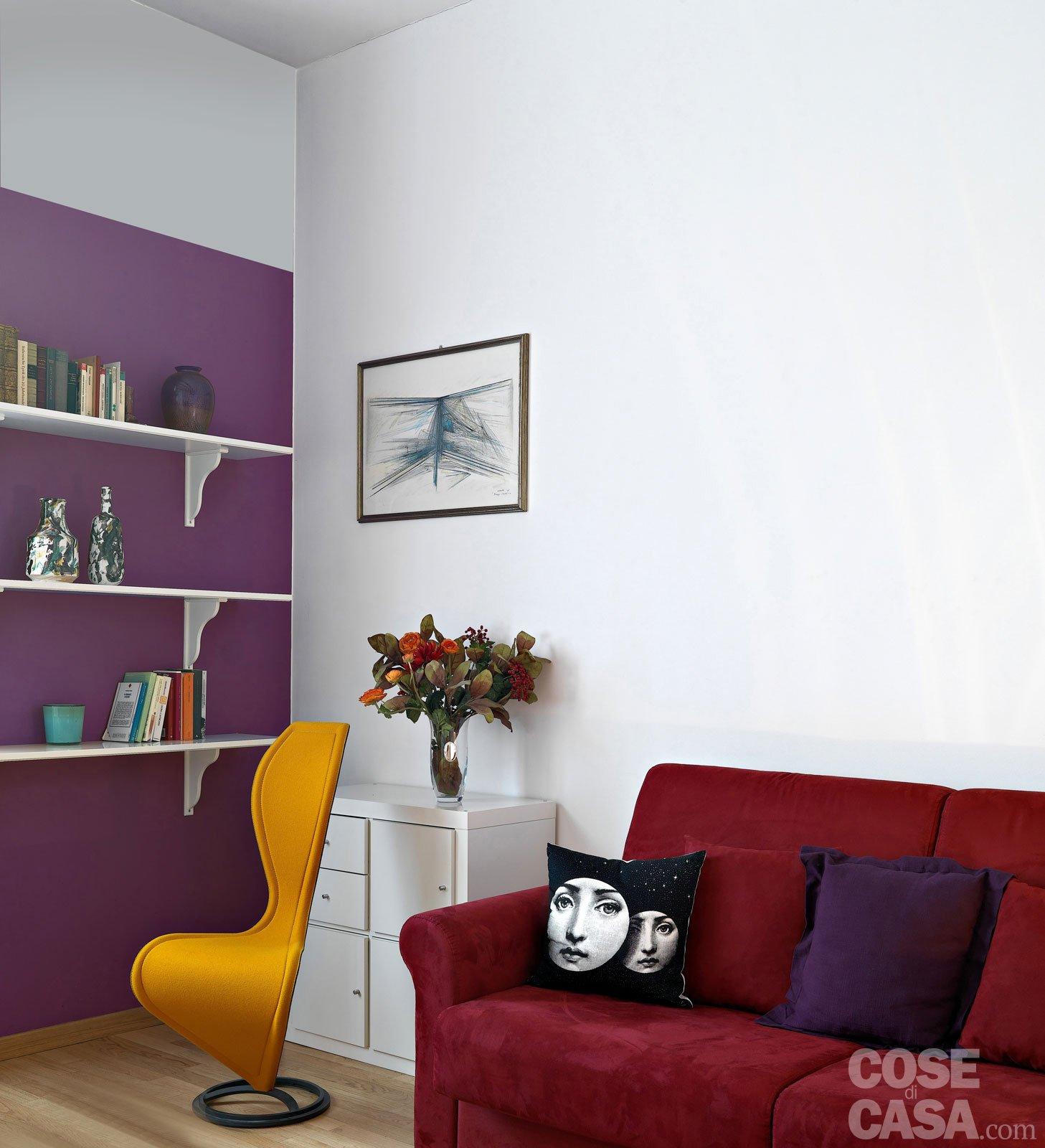 le pareti attrezzate nascono per arredare… le pareti. Pitturare Le Pareti I Trucchi Che Ingannano L Occhio Cose Di Casa