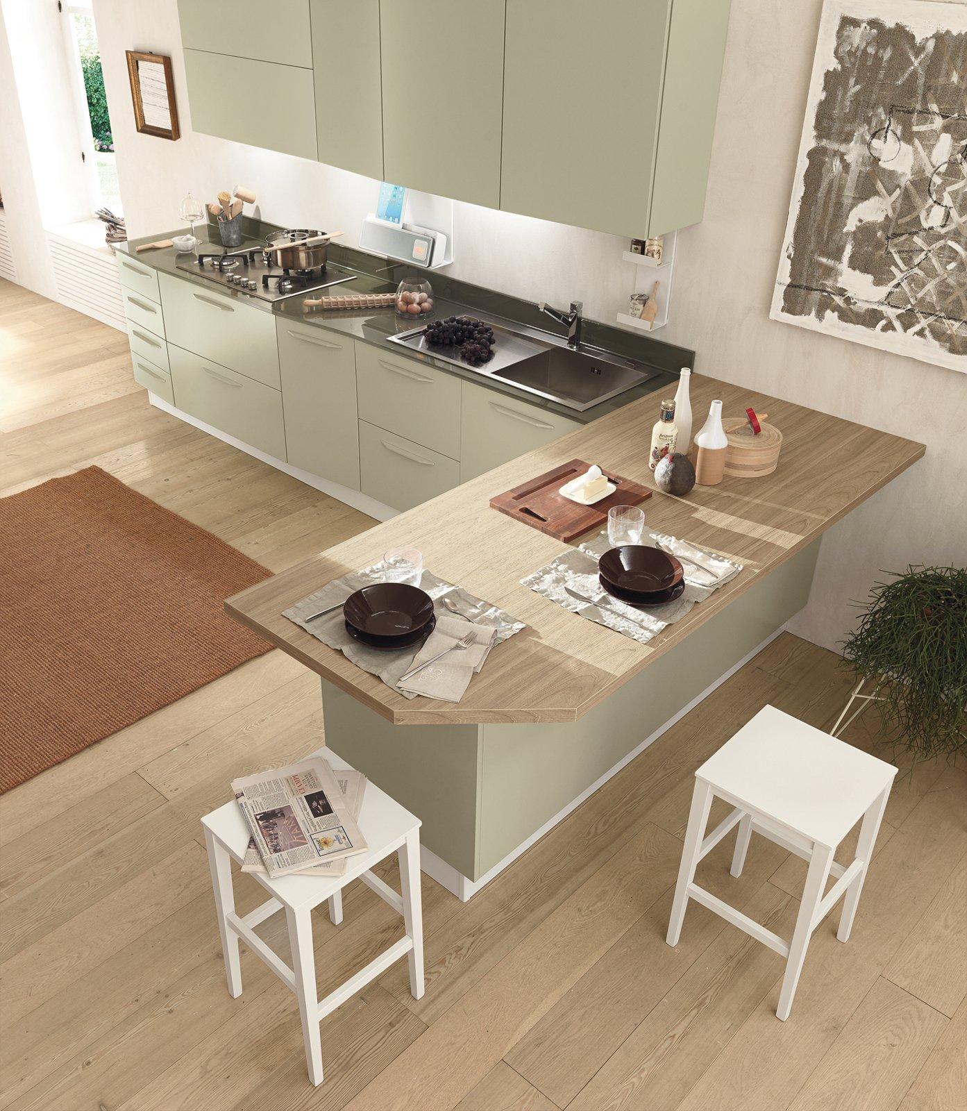 Cucine con grandi piani di lavoro  Cose di Casa
