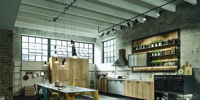 Cucina Snaidero Stile Industrial