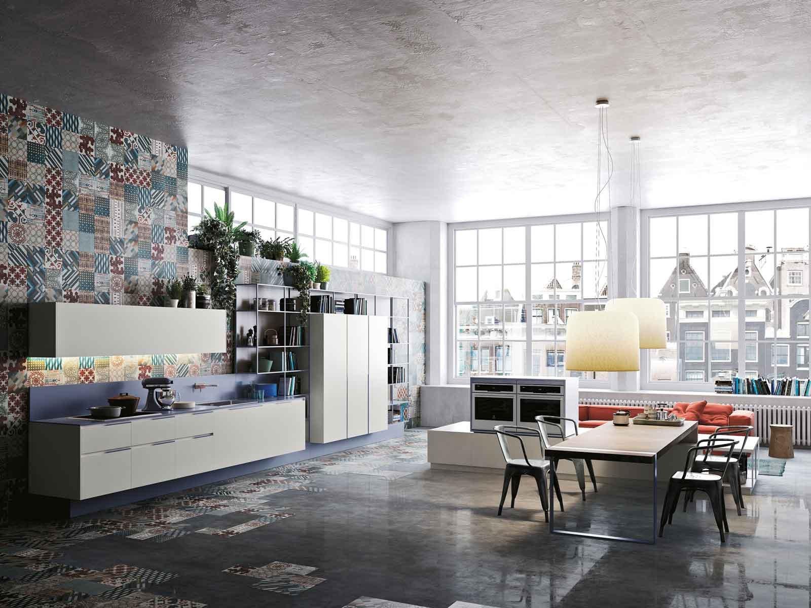 14 modelli di cucina a vista, laccate o in legno, classiche o moderne, industrial o minimal. Cucina E Soggiorno In Un Unico Ambiente 3 Stili Cose Di Casa
