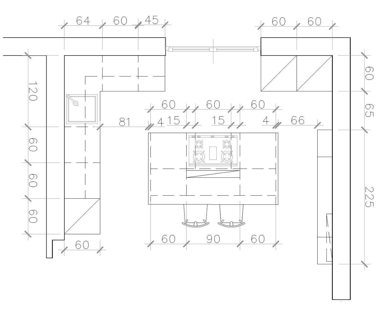 Cucina a vista sul soggiorno un progetto per sfruttare bene lo spazio  Cose di Casa