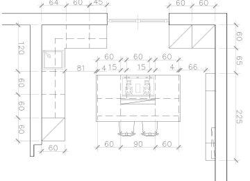 Cucina Con Isola Dimensioni | Cucina Piccole Dimensioni Meglio Di 30 ...
