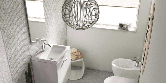Mobili lavabo piccoli Per risparmiare centimetri preziosi  Cose di Casa