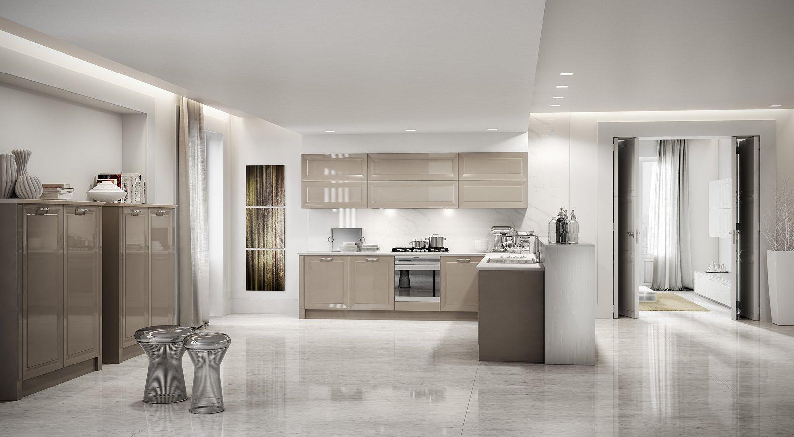 Cucine con ante riquadrate o a telaio  Cose di Casa