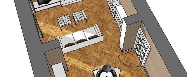 Soluzioni per il soggiorno moderno in ambiente di impianto classico  Cose di Casa