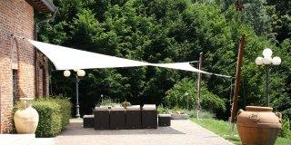 Outsunny tenda da sole per esterno avvolgibile a parete impermeabile in poliestere, rosso bordeaux 3x2.5m. Tende Da Sole Per Una Casa Che Si Amplia All Esterno Cose Di Casa