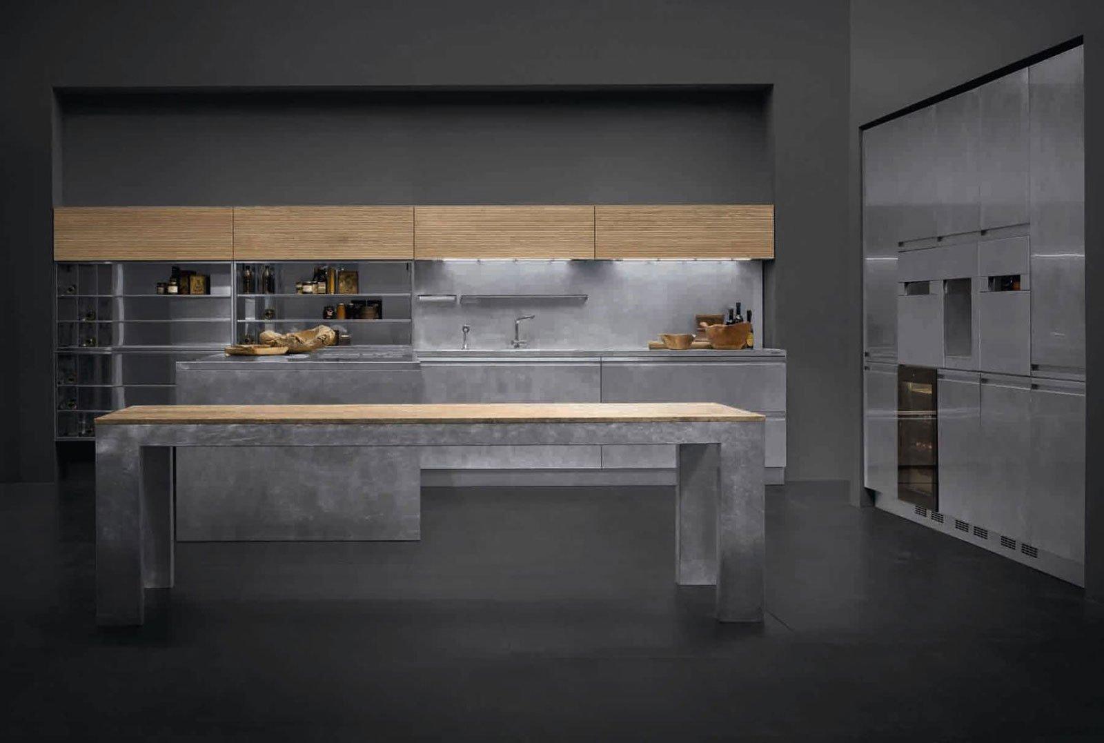 Cucine in grigio di inaspettata freschezza novit Eurocucina in anteprima  Cose di Casa