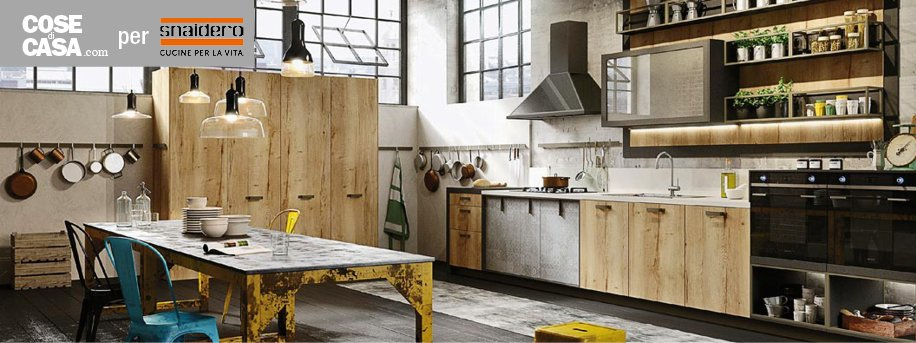 Cucine industrial style Loft di Snaidero  Cose di Casa
