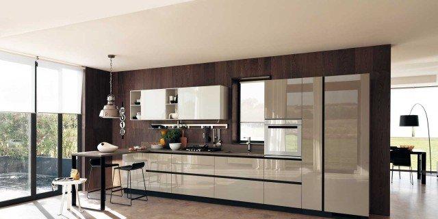 Cucine in vetro laccato  Cose di Casa