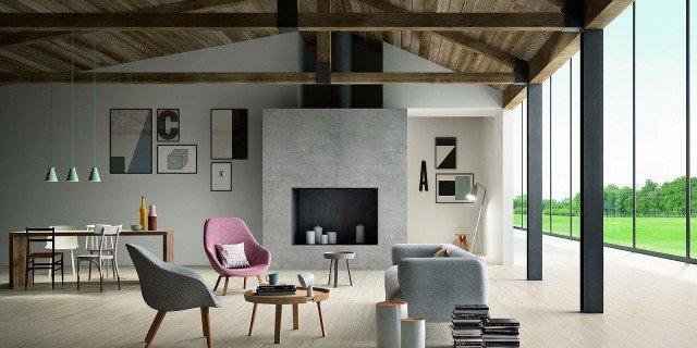 Pavimenti per il soggiorno marmo effetto marmo ed estetica legno  Cose di Casa