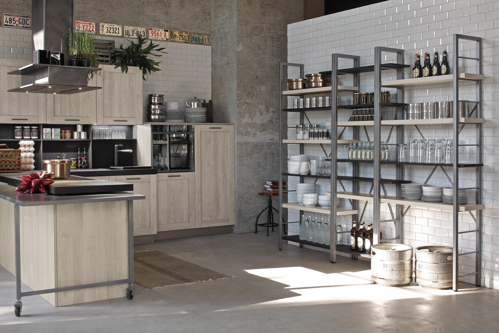 Cucine in stile industriale materiche e vissute  Cose di Casa
