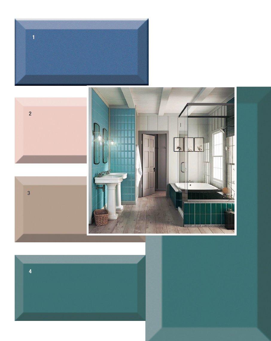 Piastrelle per il bagno 25 soluzioni e oltre 75
