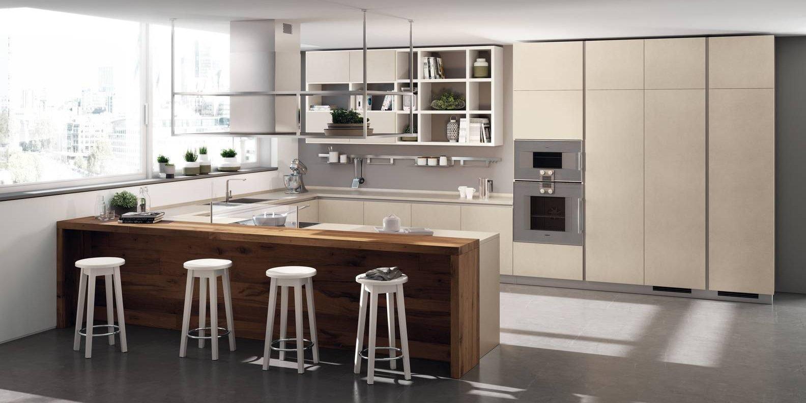 La cucina a U raccolta ergonomica funzionale  Cose di Casa