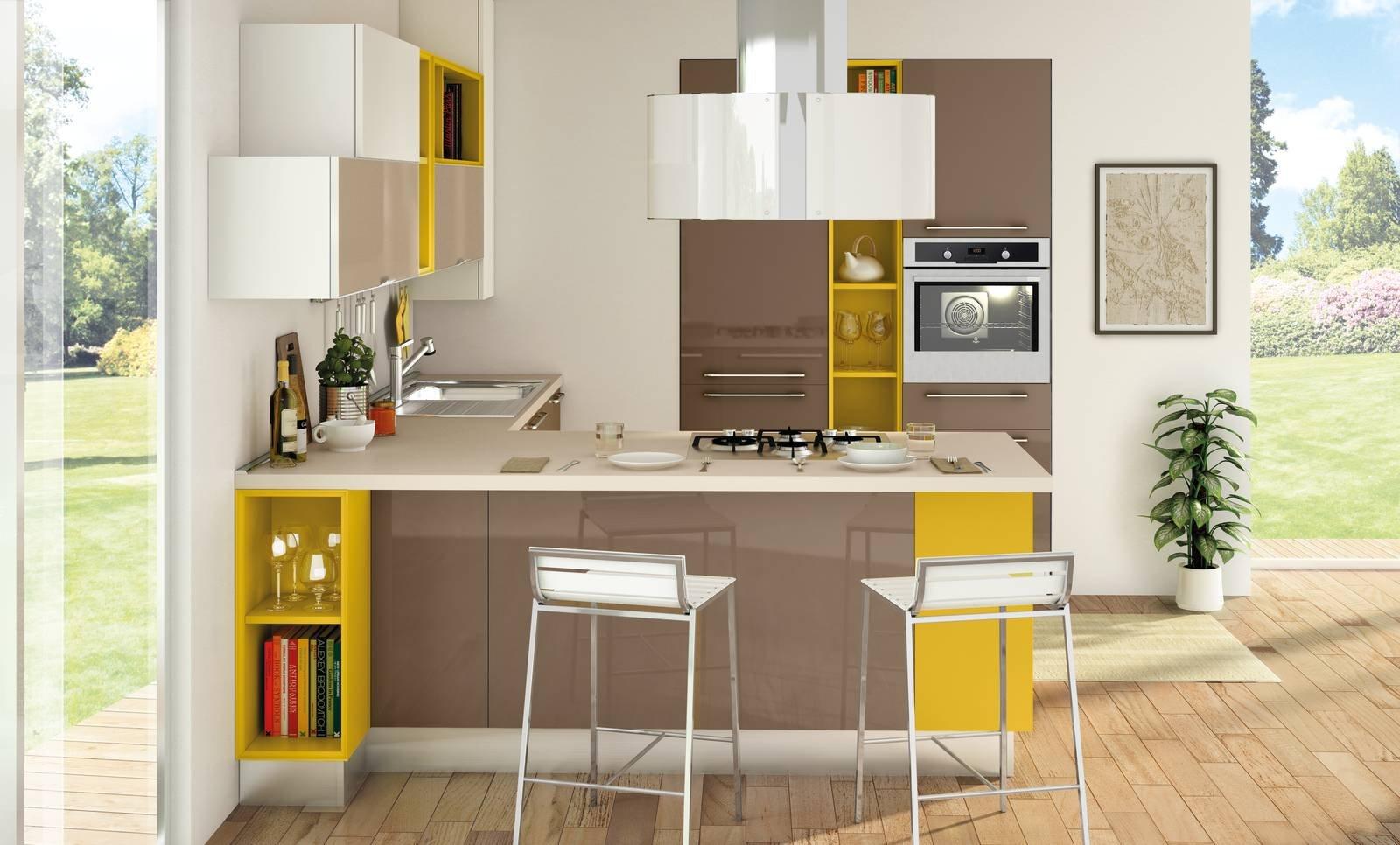 Mini cucina 5 soluzioni per la cucina piccola  Cose di Casa