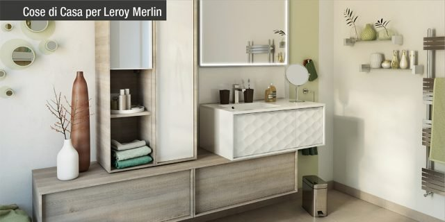 Mobili bagno Neo Leroy Merlin  Cose di Casa