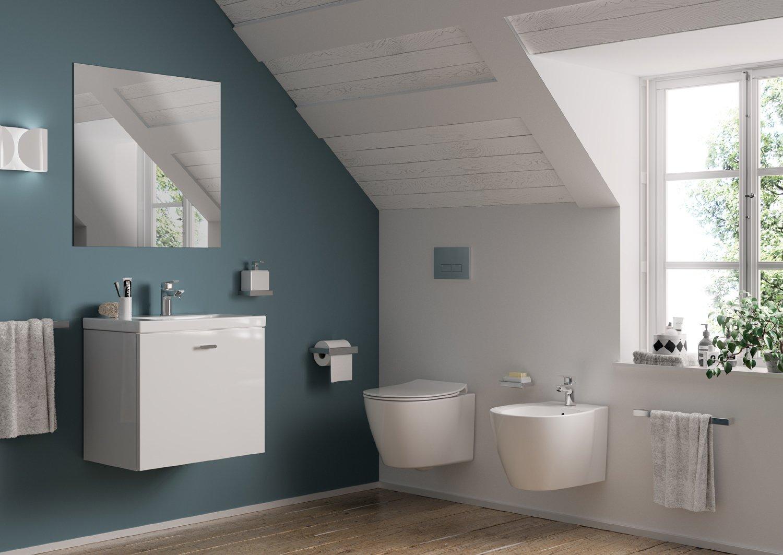Connect Space sanitari lavabi e mobili bagno salvaspazio  Cose di Casa