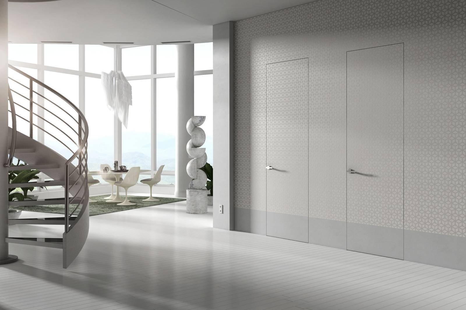 Porte filomuro Essential by Scrigno armonia di forme spazi e colori  Cose di Casa