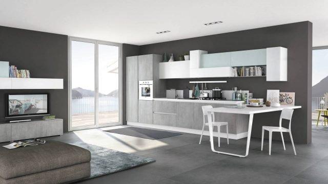 14 soluzioni coordinate di cucina soggiorno  Cose di Casa