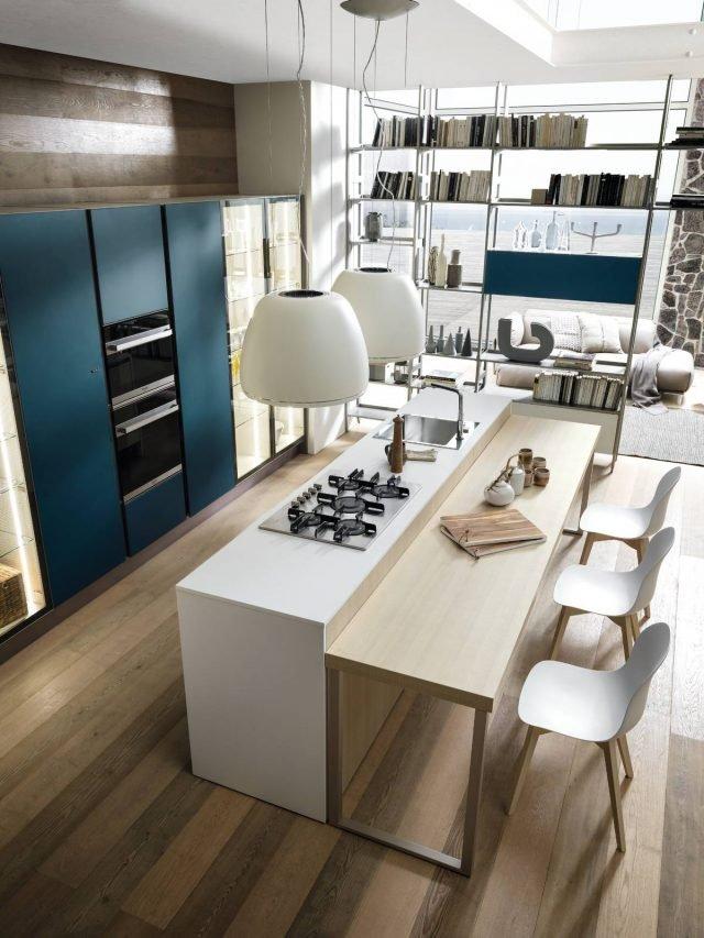 Cucine con lisola 12 modelli per un living votato alla convivialit  Cose di Casa