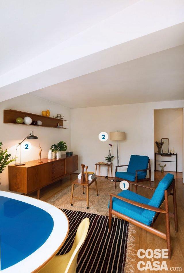 Design anni 50 e 60 nella mini casa con vista cielo  Cose di Casa