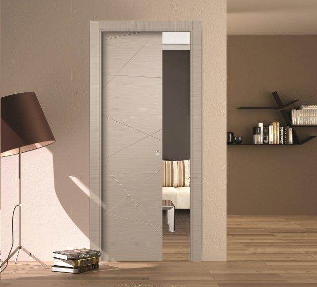 La porta scorrevole  ideale dove  necessario