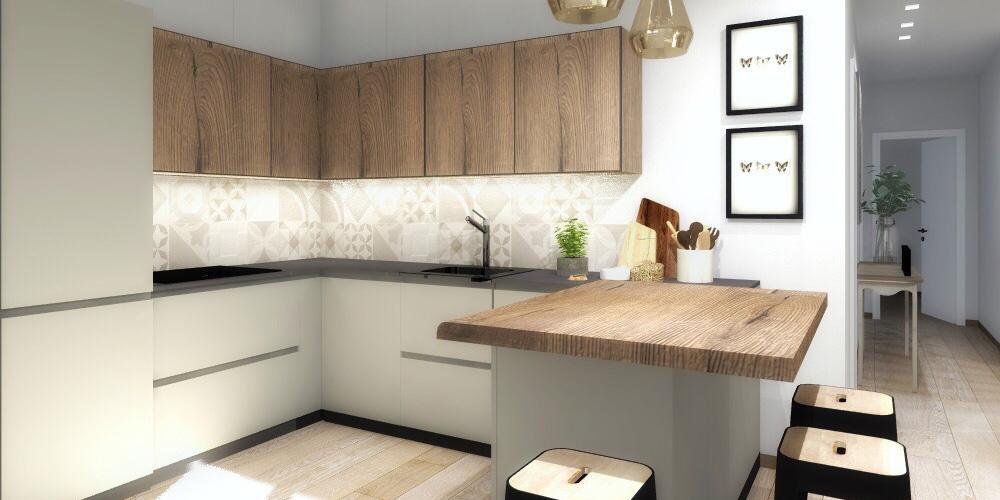 Progetto in 3D ricavare la cucina a vista limitando i costi  Cose di Casa
