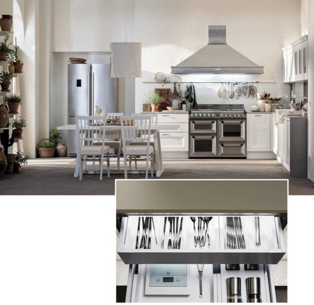 Cucina old style fuori smart dentro  Cose di Casa