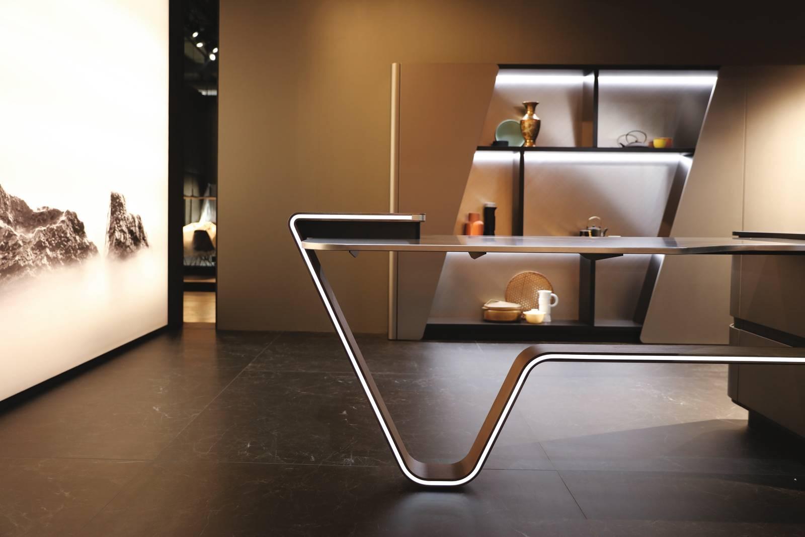 Pininfarina firma la nuova cucina Vision di Snaidero in mostra a Eurocucina  Cose di Casa
